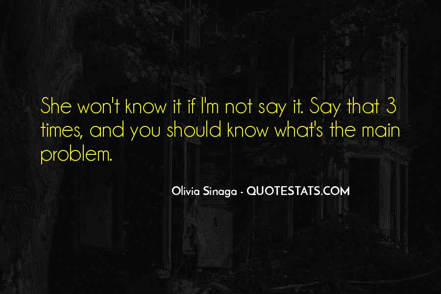 You Should Know I Love You Quotes #1715967