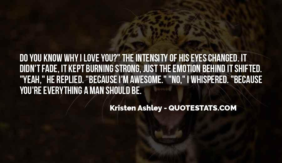 You Should Know I Love You Quotes #457732