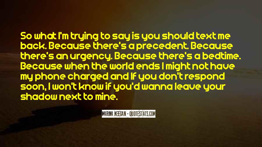 You Should Know I Love You Quotes #93925