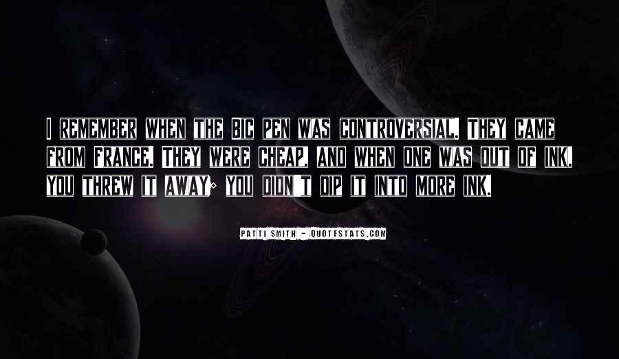 You Threw It Away Quotes #1317839