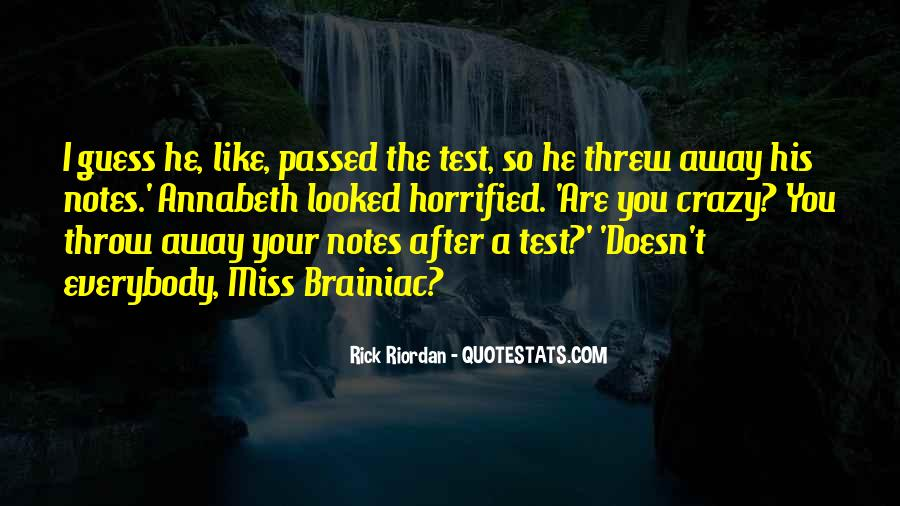 You Threw It Away Quotes #554288
