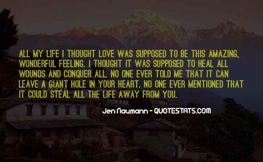 You Told Me To Leave Quotes #1406471