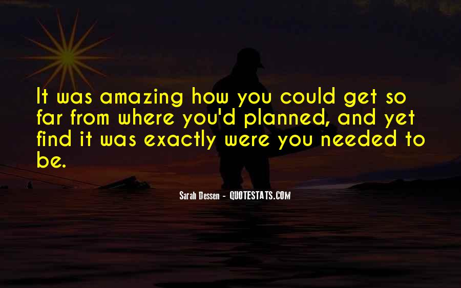 You Were Amazing Quotes #1603233