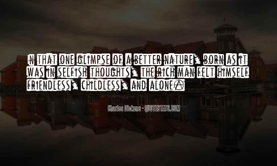 You Were Born Alone Quotes #180165
