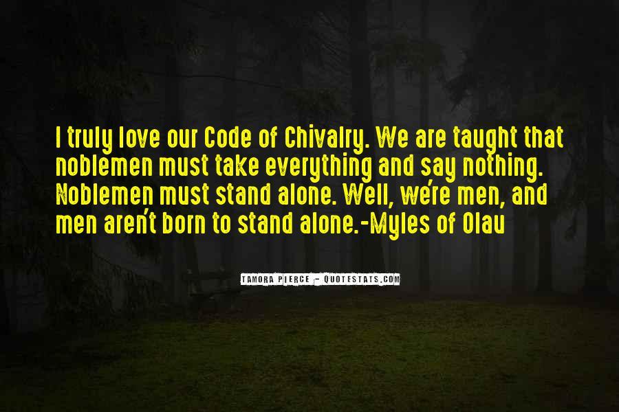 You Were Born Alone Quotes #424176