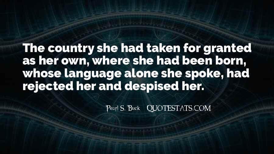 You Were Born Alone Quotes #672067