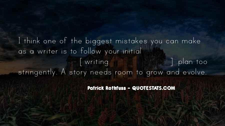 You Were The Biggest Mistake Quotes #112839