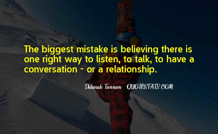 You Were The Biggest Mistake Quotes #133102