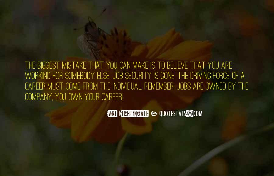 You Were The Biggest Mistake Quotes #297978