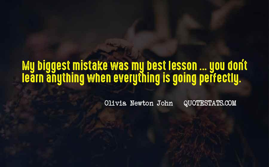 You Were The Biggest Mistake Quotes #469032