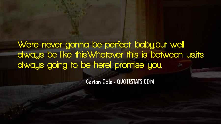 You Will Always Be My Baby Quotes #108776