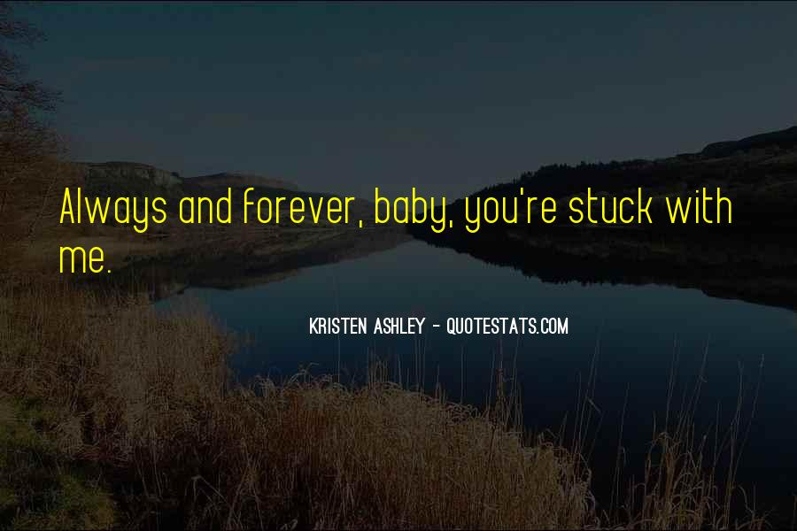 You Will Always Be My Baby Quotes #50042