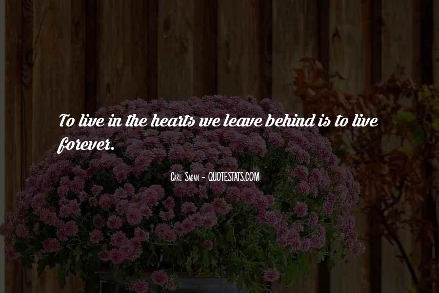 You Will Be In Our Hearts Forever Quotes #236131