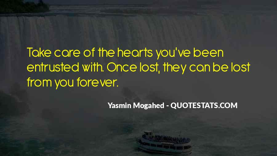 You Will Be In Our Hearts Forever Quotes #676626