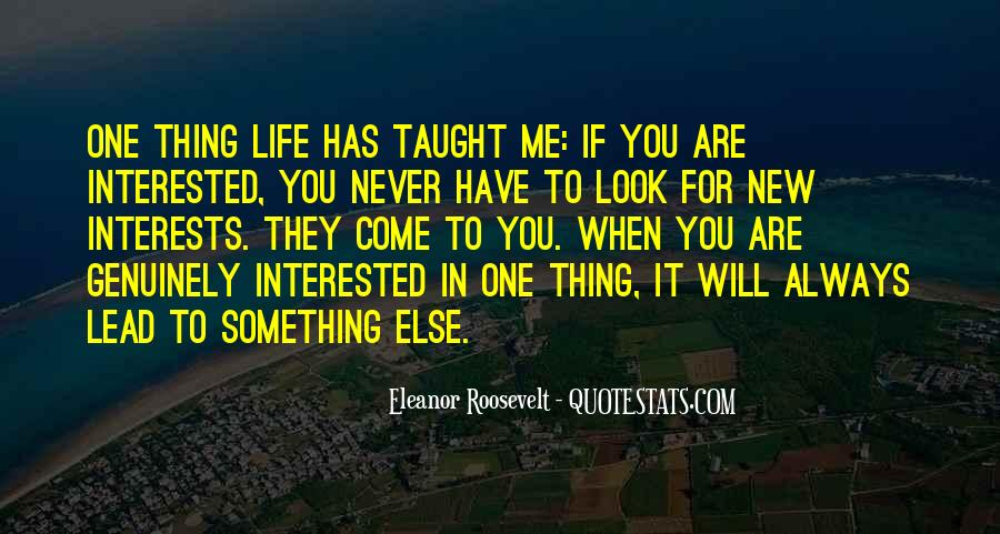 You Will Look For Me Quotes #339109