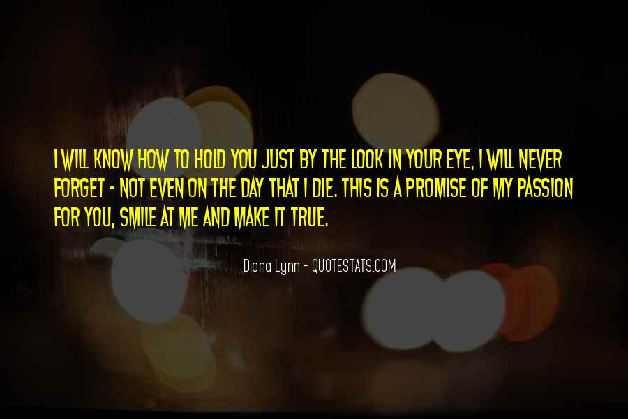You Will Look For Me Quotes #380703