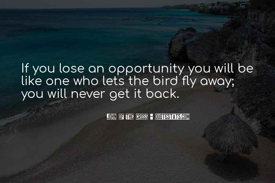 You Will Never Lose Quotes #1147966