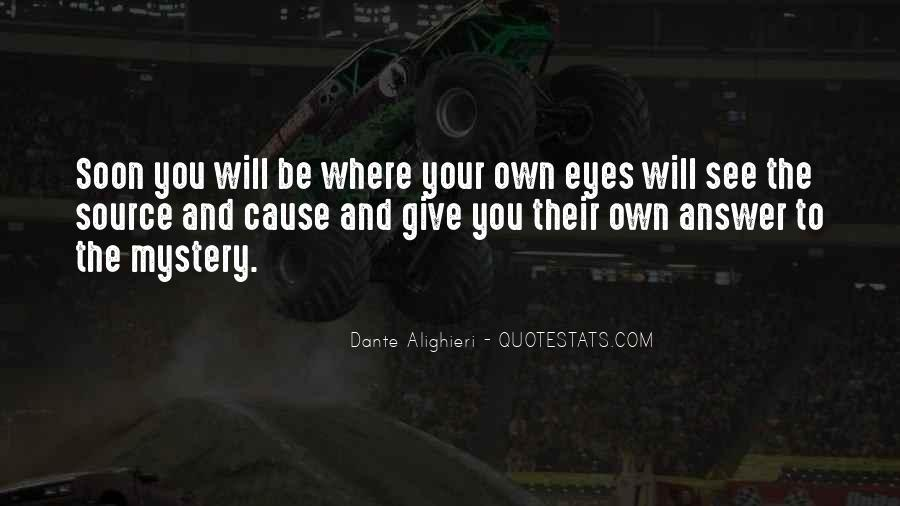 You Will See Quotes #45794