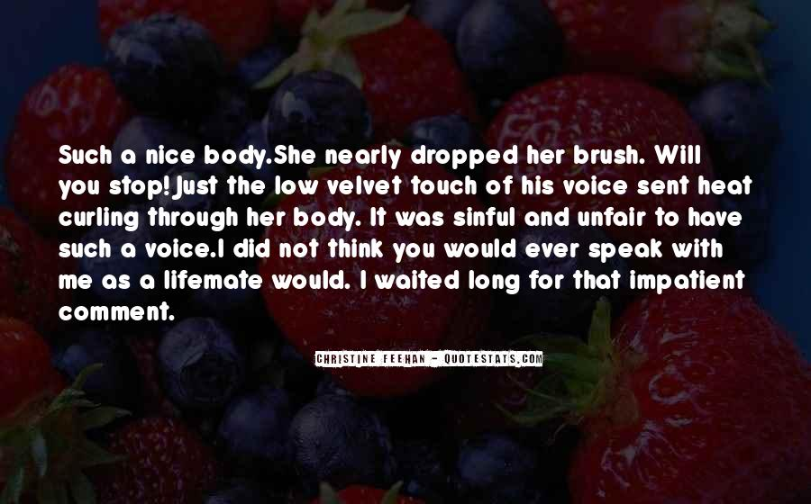 You Will Think Of Me Quotes #667413