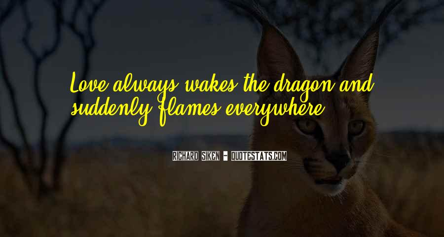 Quotes About Love And Dragons #1730301