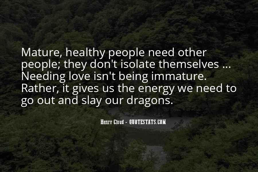Quotes About Love And Dragons #39312