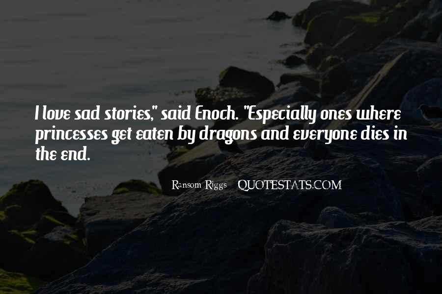 Quotes About Love And Dragons #50414