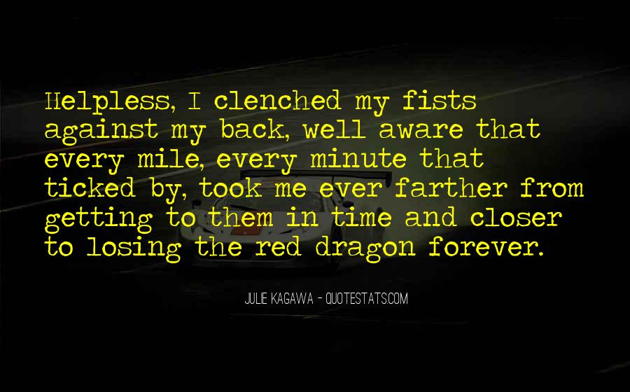 Quotes About Love And Dragons #547417