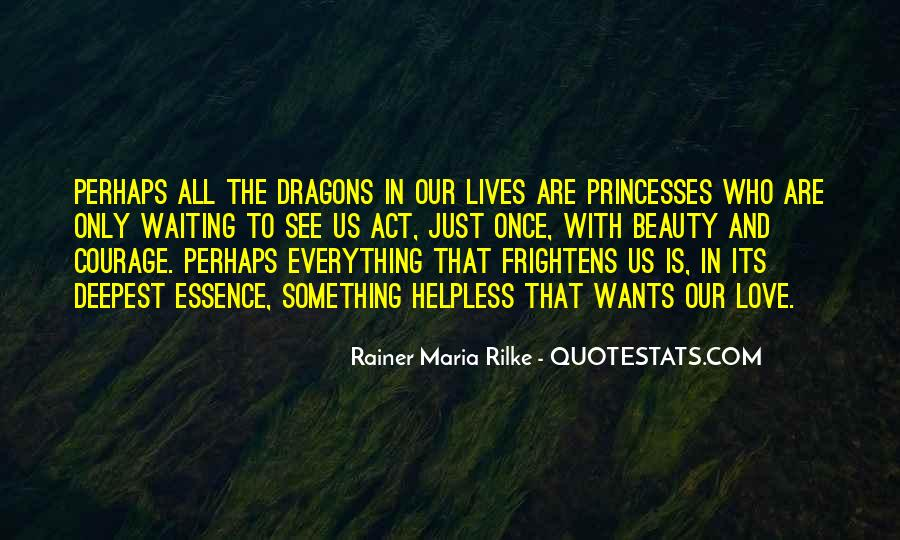 Quotes About Love And Dragons #967267
