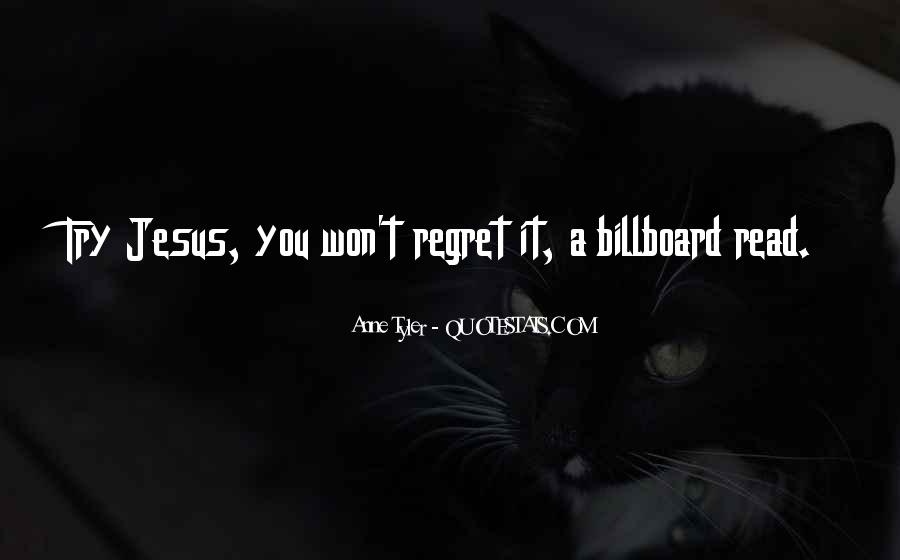 You Won't Regret Quotes #1564105