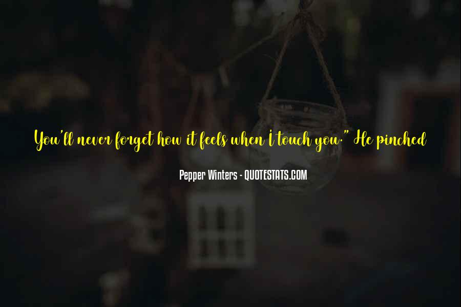 You'll Never Forget Me Quotes #464126