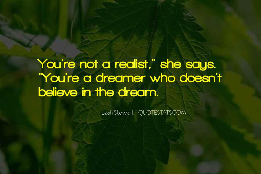 You're A Dream Quotes #472473