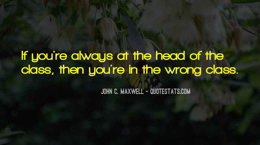 You're Always Wrong Quotes #1657456