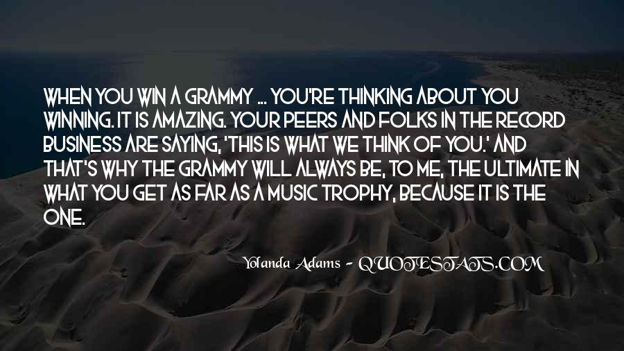 You're Amazing Because Quotes #1251596