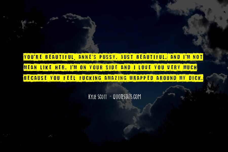 You're Amazing Because Quotes #1481373