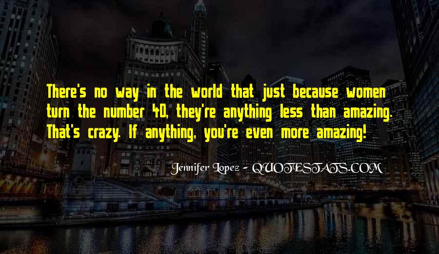You're Amazing Because Quotes #168671