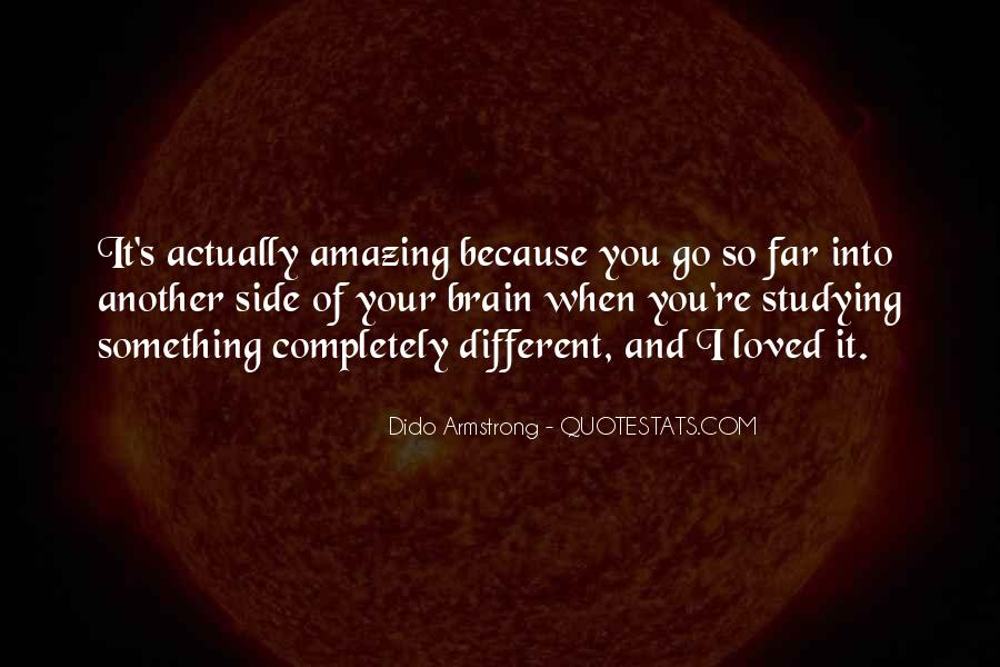You're Amazing Because Quotes #316434