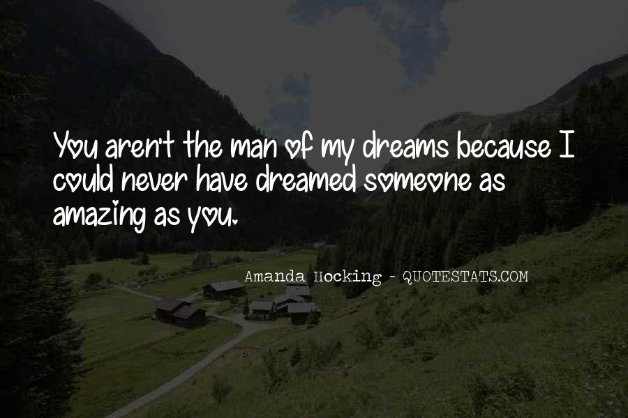 You're Amazing Because Quotes #540996