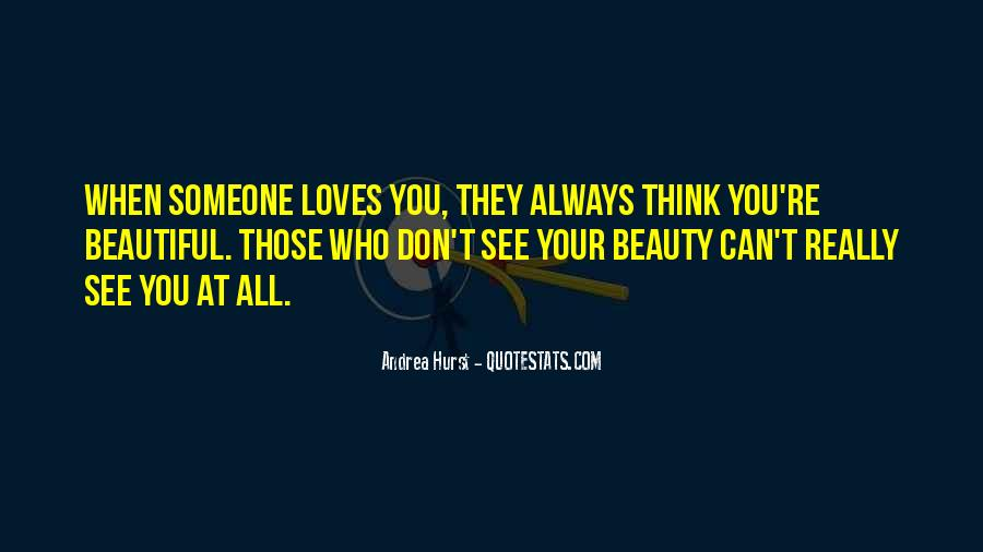You're Beauty Quotes #192529