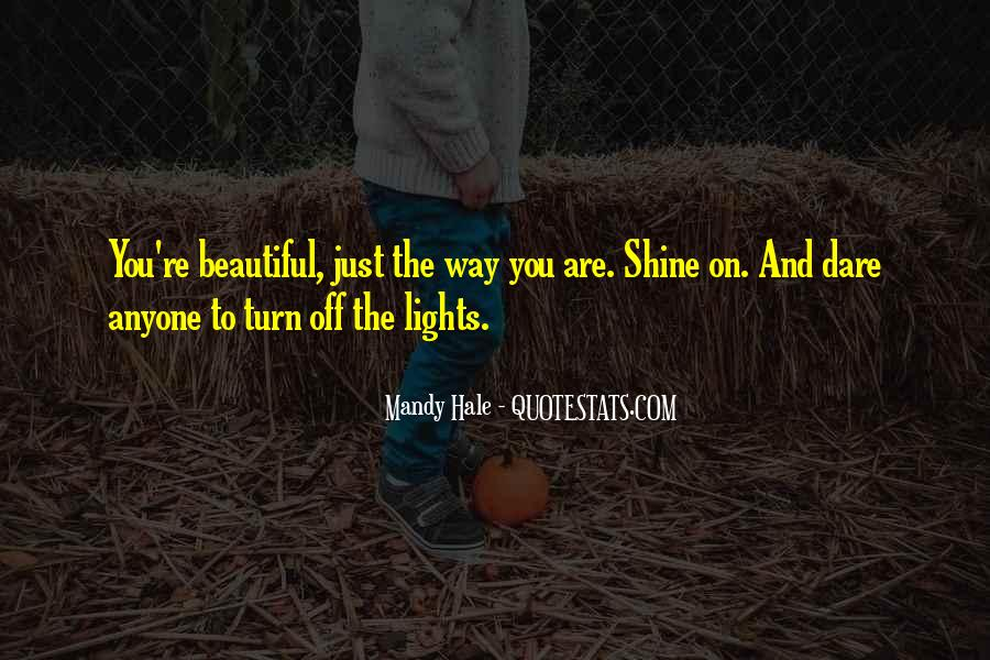 You're Beauty Quotes #700495