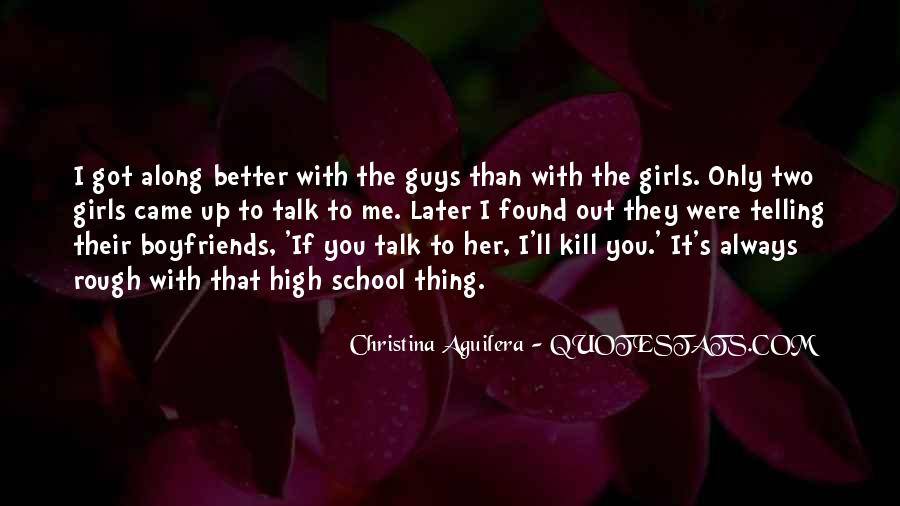 You're Better Than Her Quotes #1381689