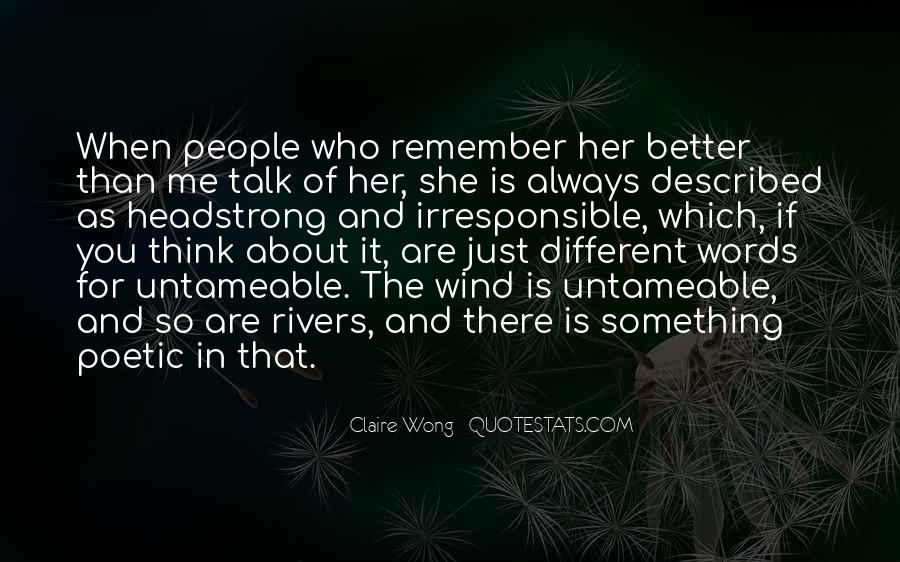 You're Better Than Her Quotes #1588485