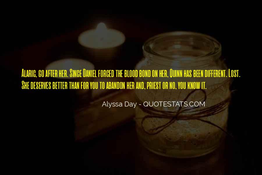 You're Better Than Her Quotes #630148