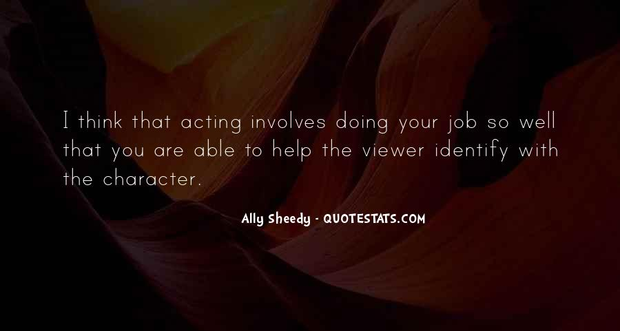 You're Doing So Well Quotes #369336