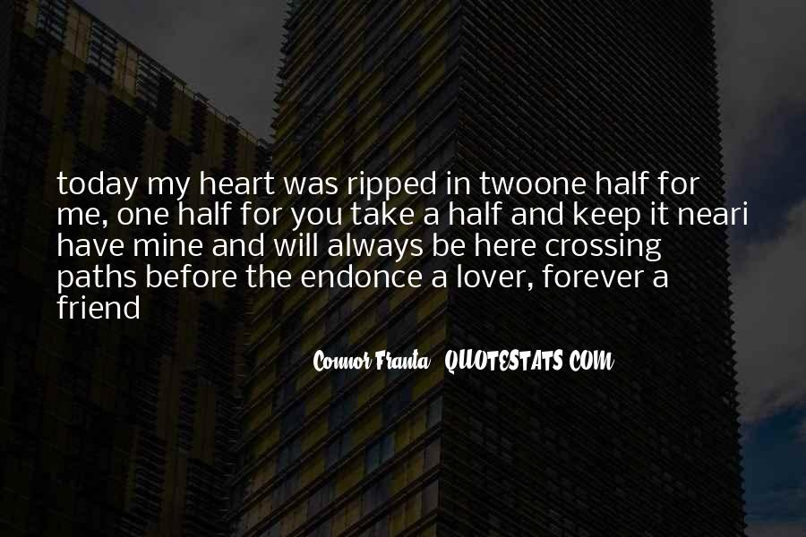 You're Forever In My Heart Quotes #1101569