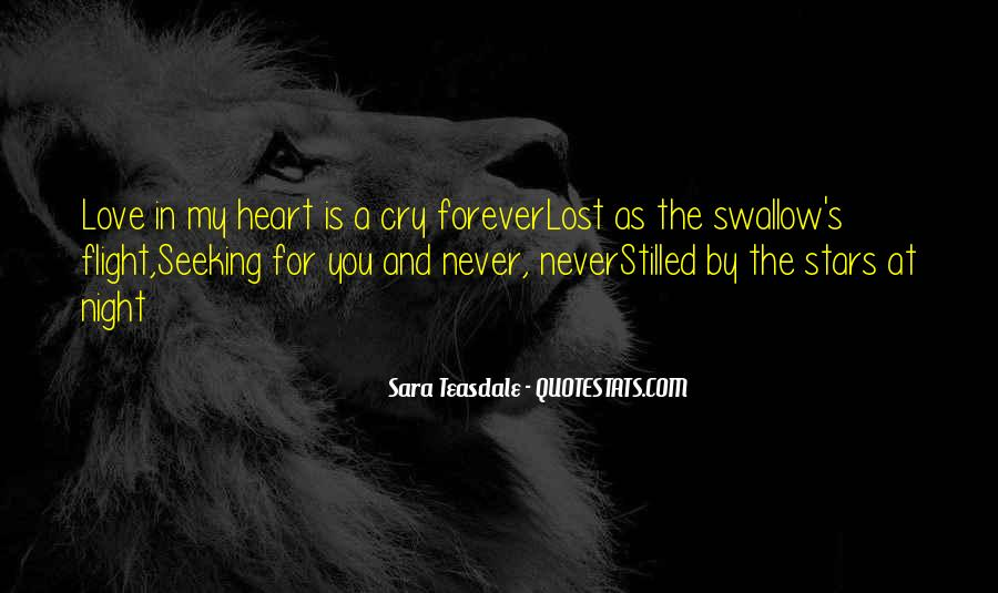 You're Forever In My Heart Quotes #1653410