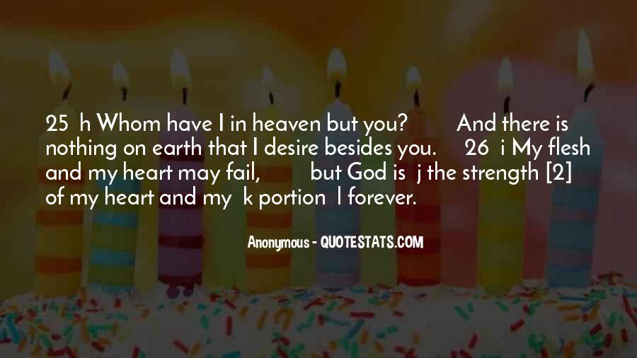 You're Forever In My Heart Quotes #1832829