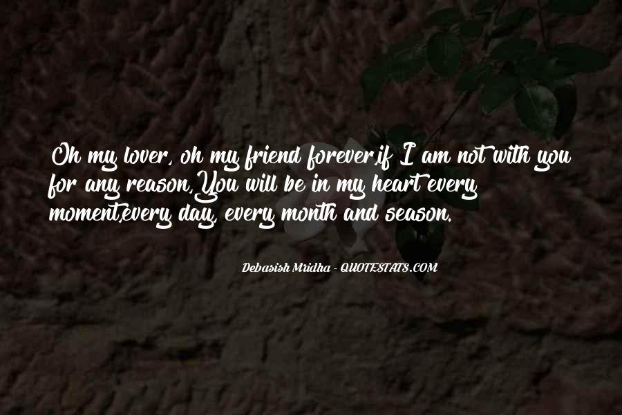 You're Forever In My Heart Quotes #376549