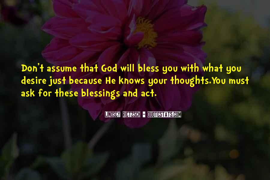 You're In Our Thoughts And Prayers Quotes #1056685