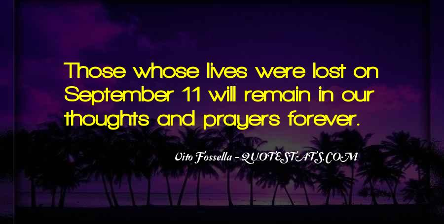 You're In Our Thoughts And Prayers Quotes #327845