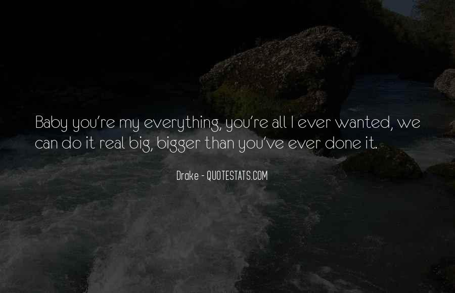 You're My Baby Quotes #1080075